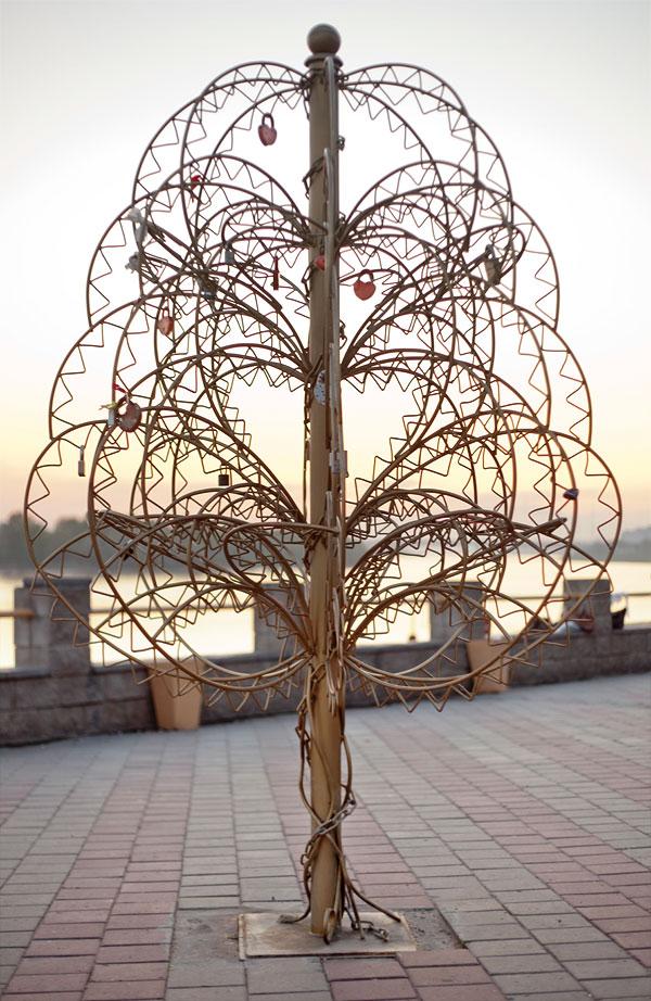 Как сделать металлическое дерево 332